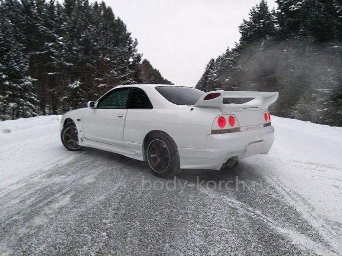 Пороги BoMex Nissan Skyline R33 купе