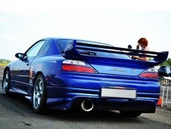 Спойлер VeilSide на Nissan Silvia S15