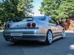 Накладки на задний бампер клычки VeilSide Nissan Skyline R33