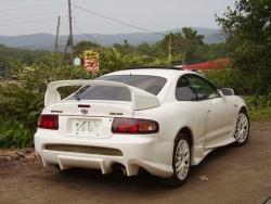 Спойлер с проставками Gt-four на Celica ST 202
