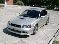Передняя накладка сток Subaru Legacy B4 BE