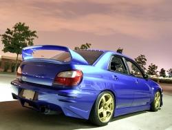 Задний бампер  ZeroSports Subaru Impreza 00-02г