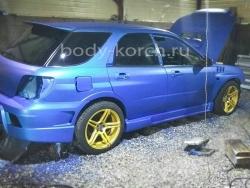 Заднее расширение под WRX на Subaru Impreza GD универсал